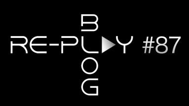 Re-play letters blog zwart #87